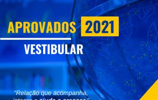 Aprovados do COMPA 2021   Relação que acompanha, integra e ajuda a crescer